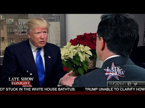 Stephen And The President-Elect Discuss Russian Influence