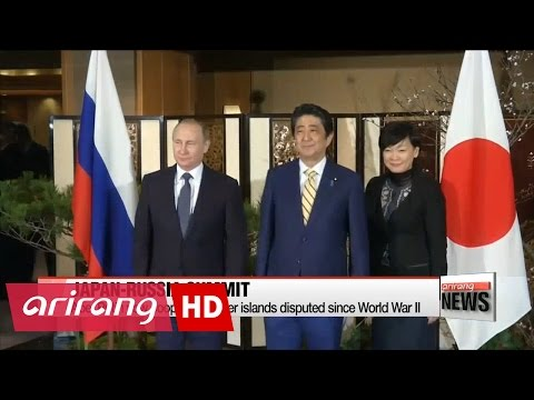 Abe, Putin vow cooperation over islands disputed since World War II
