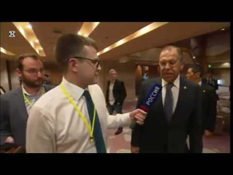Sergey Lavrov Reply on NBC Statement