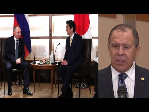 Lavrov's Comment on Putin and Abe Talks in Yamaguchi