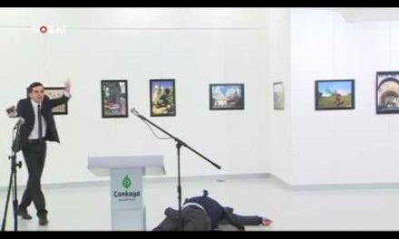 Russian ambassador killed by Syrian in Turkey
