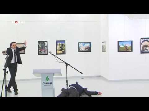Russian ambassador killed by Syrian in Turkey