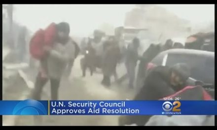 UN Security Council Approves Aleppo Resolution