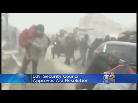 UN Security Council Approves Aleppo Resolution