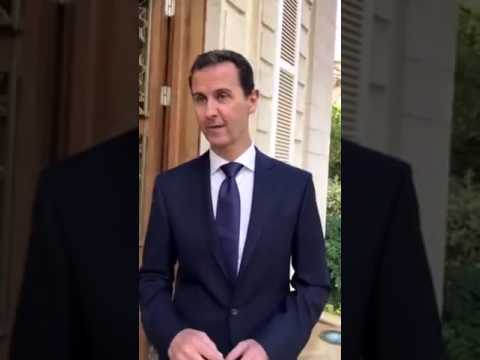 Bashar al-Assad's message to Syrians after the liberation of Aleppo