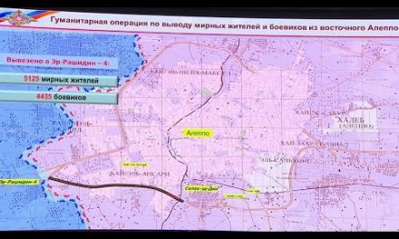 RuMOD briefing: Evacuation completed fully. RuSappers started demining eastern districts of Aleppo.