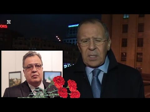 Lavrov About Tragedy with Russian Ambassador Karlov