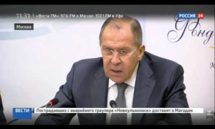 Lavrov: Russia & the not-dragging on of the Ukrainian conflict (ENG)