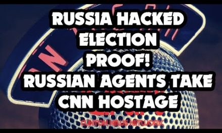 Russia hacked election. Proof! Russian agents take CNN hostage!