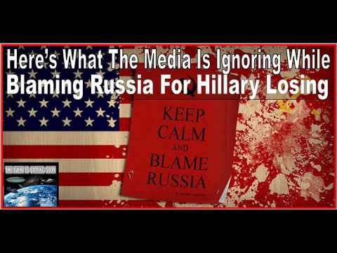 Here's What The Media Is Ignoring While Blaming Russia For Hillary Losing
