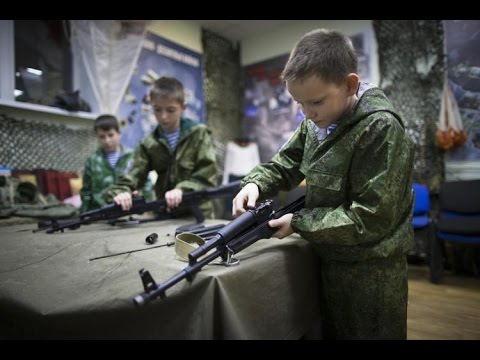 Russia children as young as 10 learning military skills in 'Young Army' amid tensions with U.S.