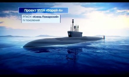 Russia Navy – Prince Pozharsky Borei-Class Nuclear Ballistic Missile Submarine Simulation [1080p]