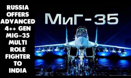 Russia offers Advanced MiG-35 Fighter Jet to India  | 720p |