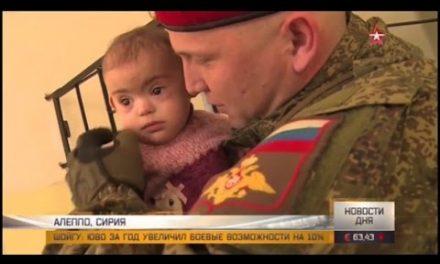 Russian medical care in Aleppo. [CC]