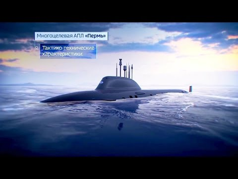 Russia Navy – Perm Yasen M-Class Nuclear Multi-Purpose Submarine Simulation [1080p]