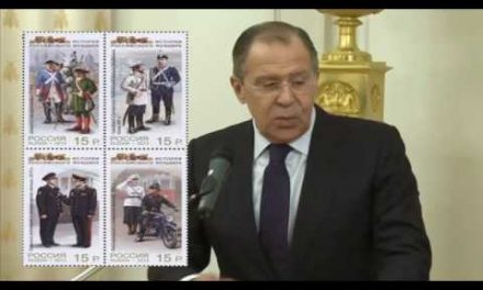 Lavrov: Uniforms of Russia's Diplomatic Service