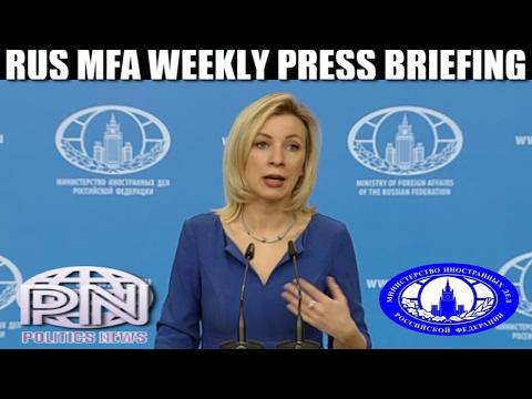 Maria Zakharova: Fake News About Russia