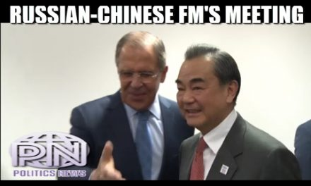 Sergey Lavrov Meets Chinese FM Wang Yi