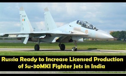 Russia Ready to Increase Licensed Production of Su-30MKI Fighter Jets in India