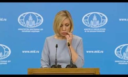 Weekly Press Briefing by Maria Zakharova