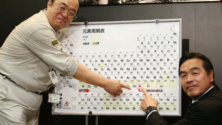 Say Hello To Your Four Newly Named Parts Of The Periodic Table