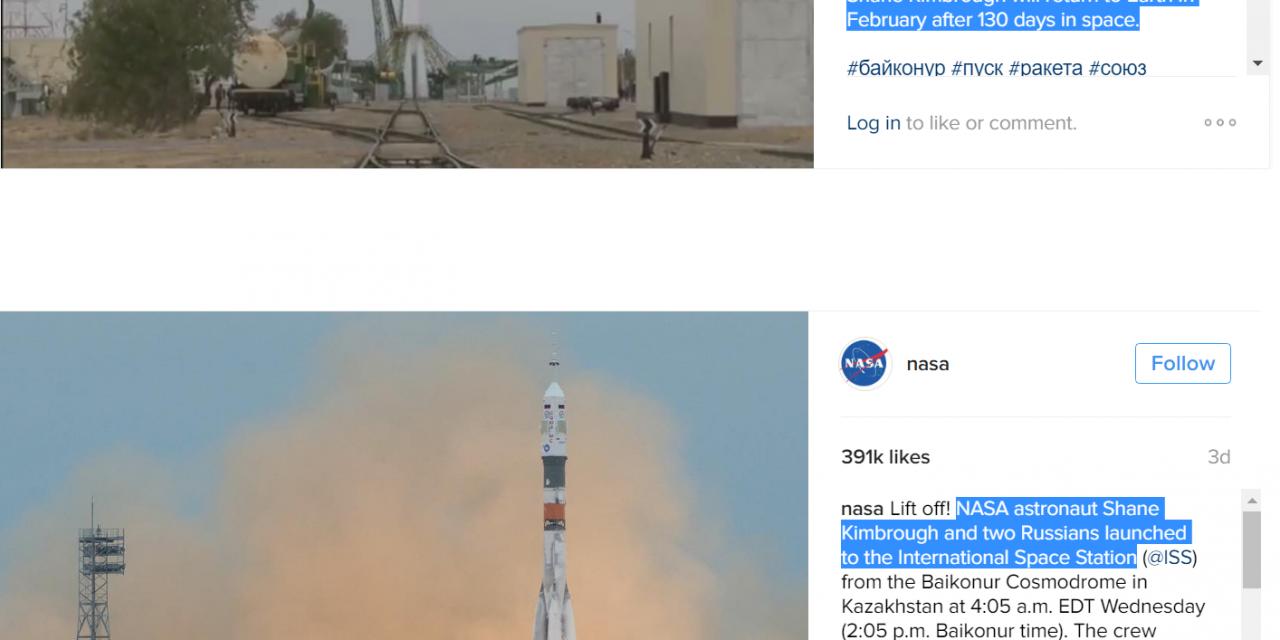 NASA vs Roscosmos
