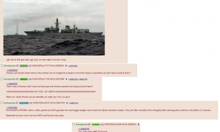 British posters roast their own navy ship thinking it was russian