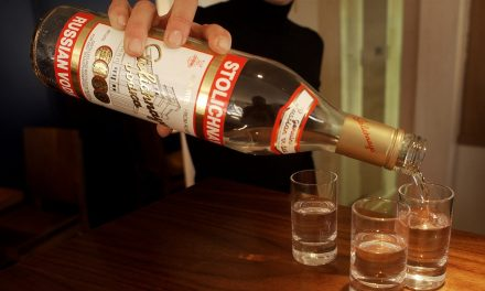 Russian exports of vodka and alcohol hit decade low