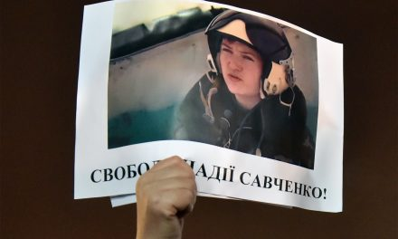 Putin Puts Heroic Female Pilot on Trial
