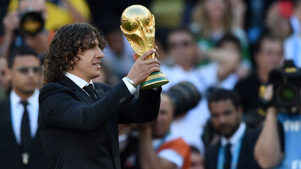 Puyol to visit Saint Petersburg Stadium and fulfill volunteers in Moscow – FIFA.com