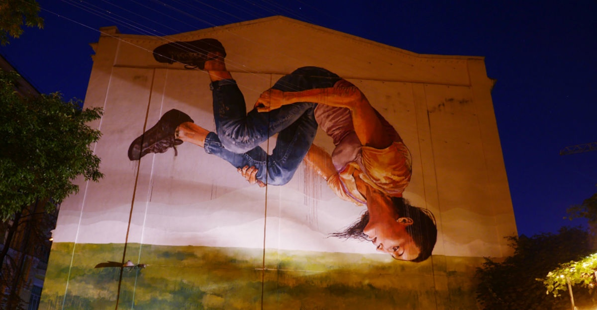 This resilient Ukrainian city may merely have the most beautiful murals in Europe.