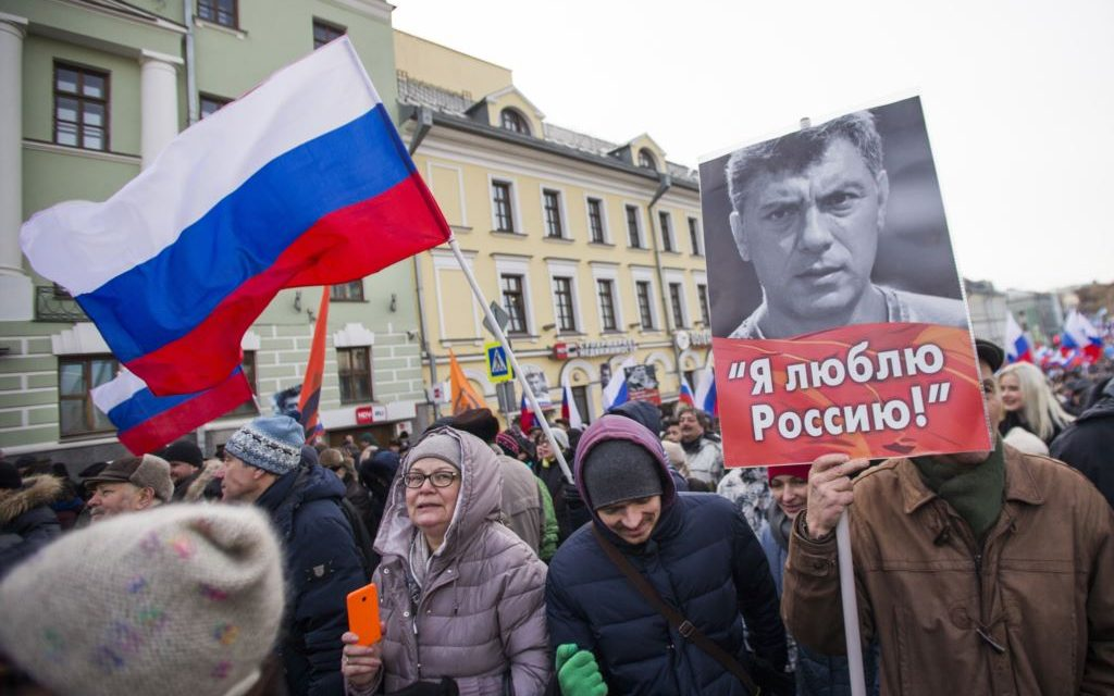 Thousands of Russians March to Remember Murdered Putin Critic – Voice of America
