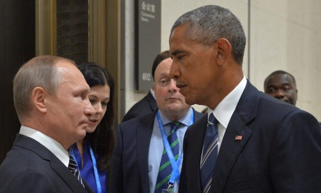 People Keep Photoshopping This Pic Of Obama Giving Putin The Death Stare