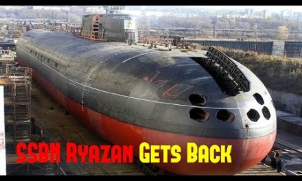 RussiaMilitary News ► SSBN Ryazan Gets Back to rankings in Russia Army