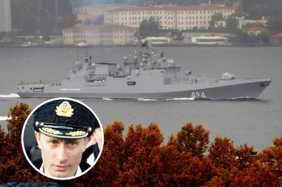 Vladimir Putin to BLITZ death cult ISIS as Russia's missile-packed warship heads for Med – Daily Star