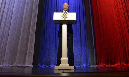 Putin salutes Russia's intelligence agencies on national 'spies' day'