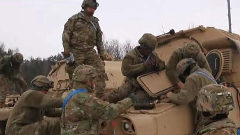 Thousands of US troops on Russia's doorstep in Poland deployment