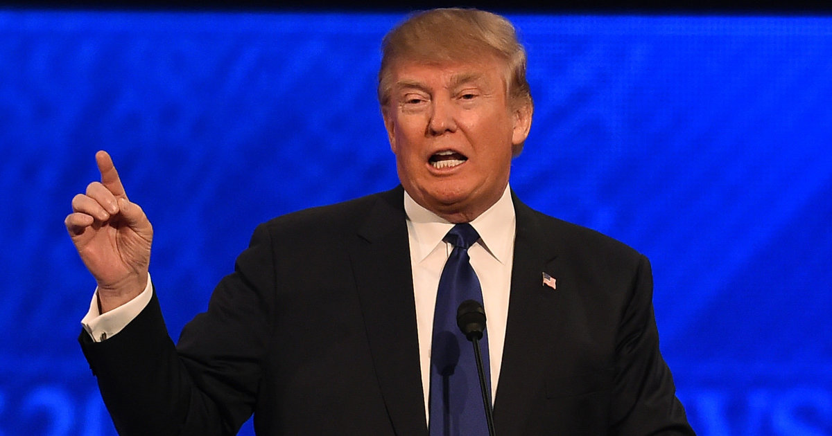 Donald Trump Was On Fire At Saturday's Debate