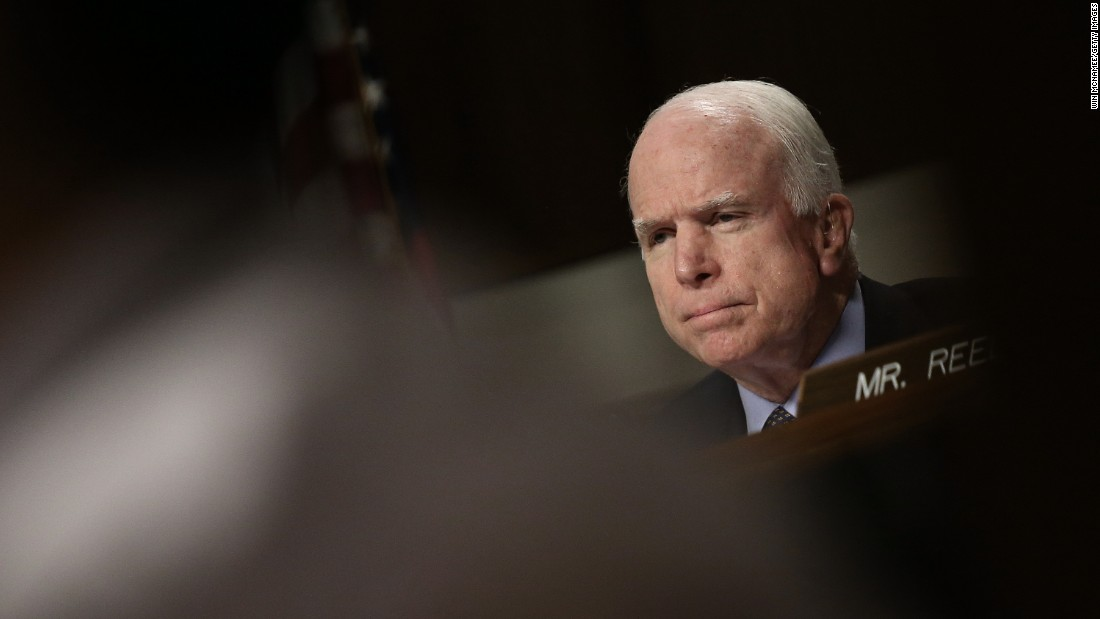 McCain contacts Trump to make clear wiretapping case
