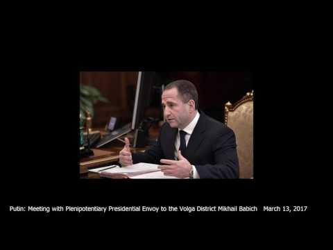 Putin: Meeting with Plenipotentiary Presidential Envoy to the VolgaDistrict Mikhail …