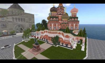 Machinema Second Life Pesona Kremlin