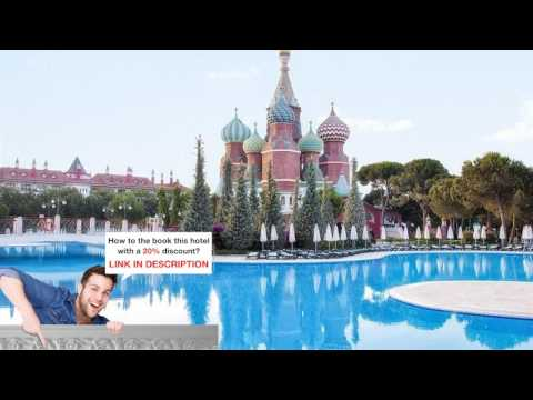 WOW Kremlin Palace, Kundu, Turkey – Photos & & Price