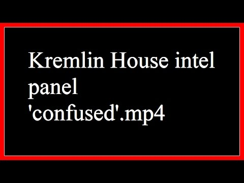 Kremlin House intel assembly 'at a loss for words'