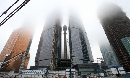 Moscows Skyscraper City Is Way Behind Schedule