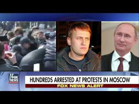 Russian resistance leader imprisoned throughout anti Kremlin demonstration