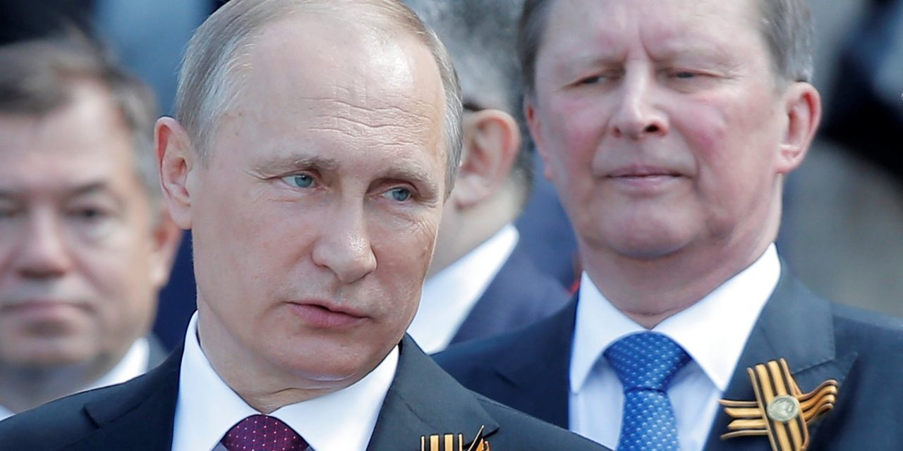 Putin's Longtime Chief Of Staff Steps Down From Key Russian Post
