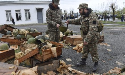 Calls For Ceasefire In Deadly Fighting Over Nagorno-KarabakhRegion