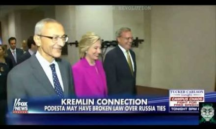 PODESTA BUSTED! ILLEGAL Transfer Of KREMLIN MONEY! SKIPPYS Going To JAIL!