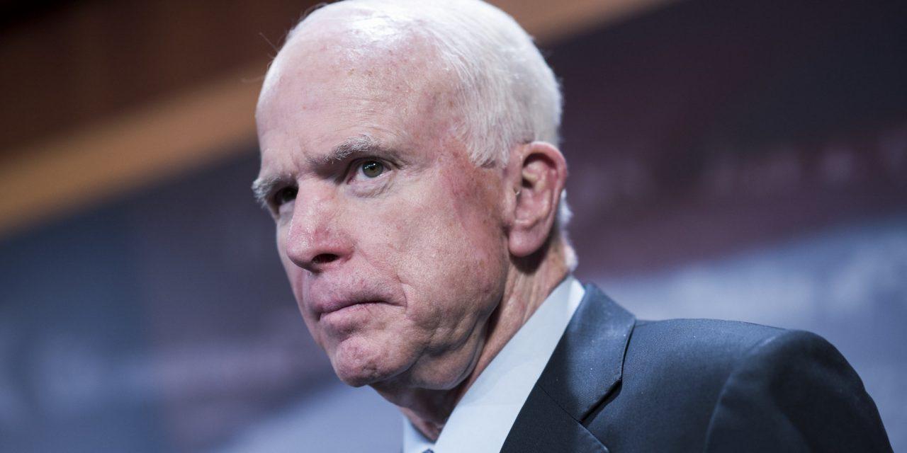 John McCain Calls Australia's Ambassador To Clean Up Trump's Mess