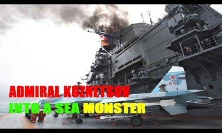 Russia transformed Admiral Kuznetsov right into a sea beast